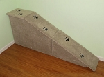 Dog Ramp | Sturdy All Wood |For Pets 2-40 Lbs | 2 Piece Ramp Total: 30