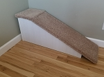 Dog Ramp | Sturdy All Wood | For Pets 2-60 Lbs | 18