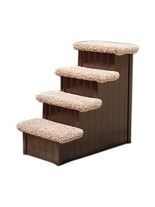 Dog Stairs For Tall Bed | For Pets 5-40 Lbs | 24