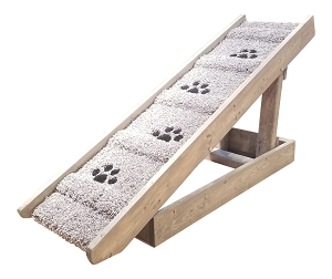 Adjustable Dog Ramp for Dogs 2-40 Lbs | 15