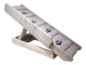 Adjustable Dog Ramp for Dogs 2-40 Lbs |18