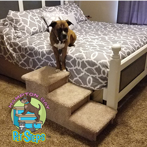 Pet Stairs For Big Dogs |For Pets 5-100 Lbs | 18
