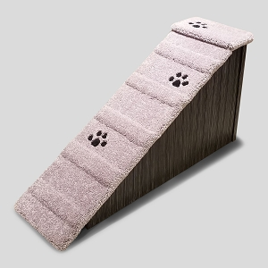 Wobble Resistant Wood Dog Ramp | For Pets 2-80 Lbs | 24