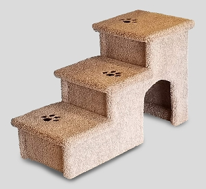 Stop The Wobble| Wobble Resistant Dog Stairs| For Both Big & Small Dogs 5-150 Lbs| 24