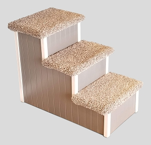Pet Stairs for Tall Beds | For Pets 5-80 Lbs | 24