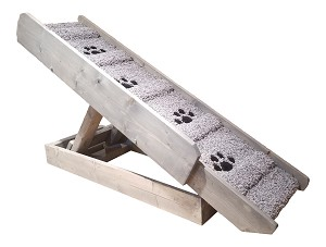 Extra Wide Adjustable Dog Ramp for Dogs 2-80 Lbs | 21