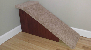 "Stop The Wobble| Wobble Resistant Dog Ramp| For Pets 2-40 Lbs| 18""H X 14""W X 34""D