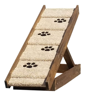 Sturdy Dog Ramp for Dogs 2-40 Lbs | Adjust to 21