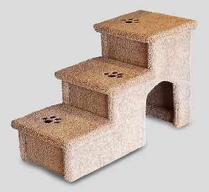 Wobble Resistant Dog Stairs | For Both Big & Small Dogs 5-150 Lb s| 24